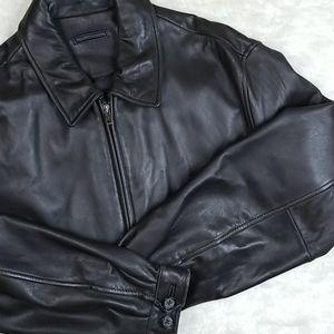 Brooks Brothers Leather Jacket
